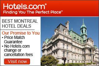 Best Montreal Hotels Deals