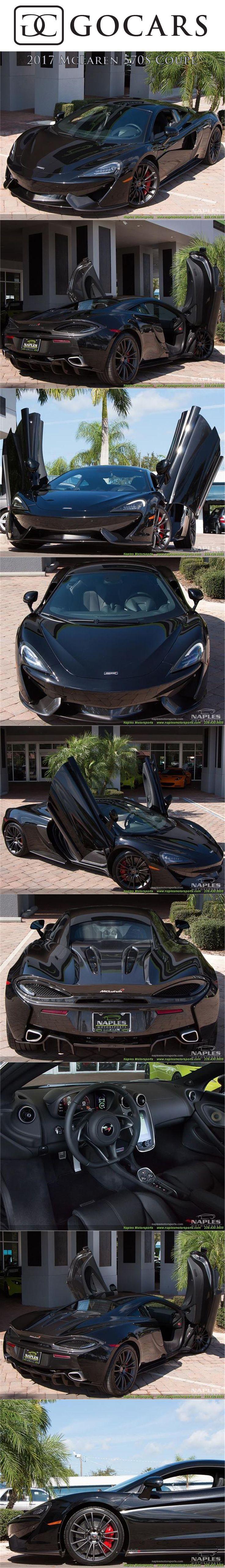 Mclaren 570s Onyx Black Exterior, Carbon Black Interior