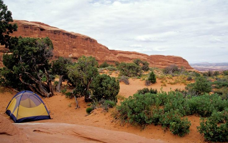 Utah — Devils Garden Campground, Arches National Park