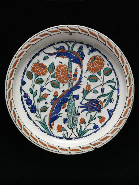 Dish      Place of origin:      Iznik, Turkey (made)     Turkey (made)     Date:      1560-90 (made)     Artist/Maker:      Unkno...