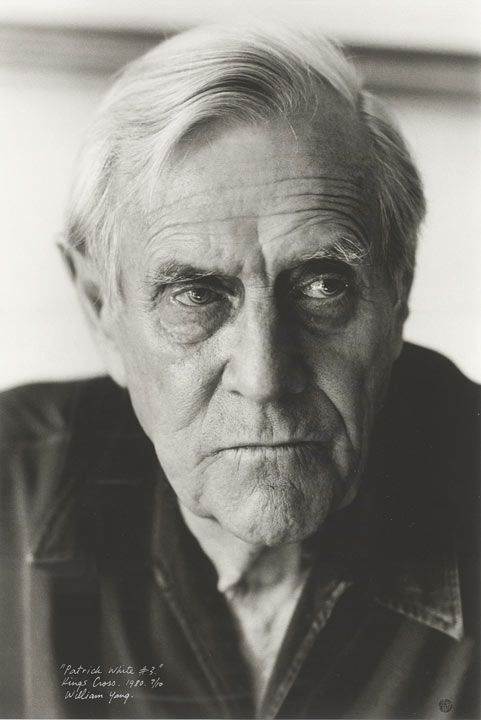 Portrait of Patrick White, Kings Cross, New South Wales, 1984 / photograph by William Yang.   Held at the National Library of Australia.  Find more detailed information about items in this exhibition:    http://www.sl.nsw.gov.au/events/exhibitions/2012/patrick_white/index.html      From the collection of the State Library of New South Wales www.sl.nsw.gov.au