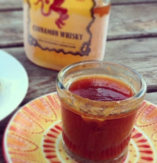 This Fireball whisky barbecue sauce is a definite must try with the sweet and tangy cinnamon flavor - it is finger licking good! Enjoy on pork or chicken.