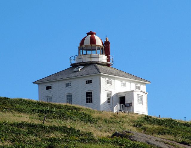 Cape Spear Lighthouse, Cape Spear National Historic Site, St. John's, Newfoundland, Canada 1835.
