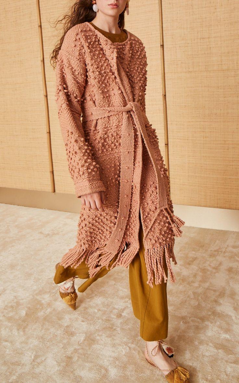 Amara Handloom Coat by Ulla Johnson