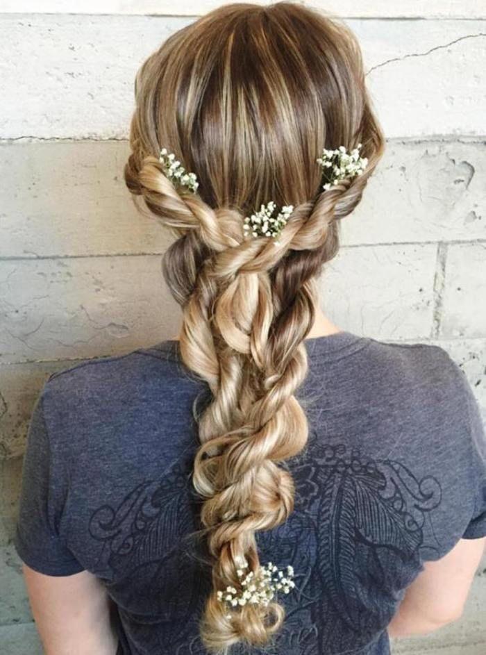 Rope Braid Hairstyles (20 Cute Ideas for 2019) #Br…