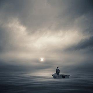 """Arte Digital de Philip McKay - Y la vida es larga - 2012. Imagen del blog """"Como Saber si es el Hombre Indicado""""."""