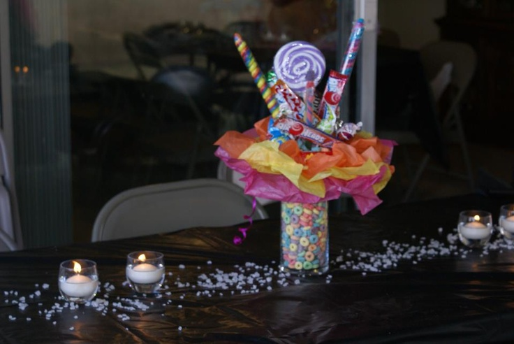 Candyland sweet party centerpieces sixteen