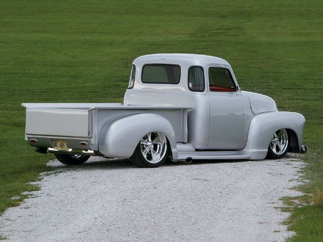 What's your favorite old truck? (pre-60's)