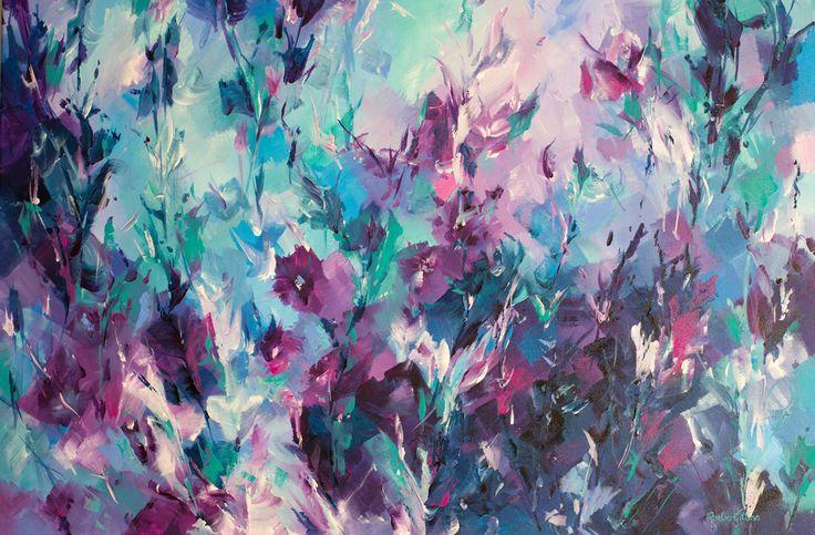 """Lavendar Crush"" by Amber Gittins. Paintings for Sale. Bluethumb - Online Art Gallery"