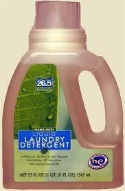 Trader Joe's lavender laundry detergent. THE BEST for sensitive skin. My baby had horrible eczema the entire first year of his life. This detergent worked better than anything I tried. Plus it smells heavenly. I recommend it!