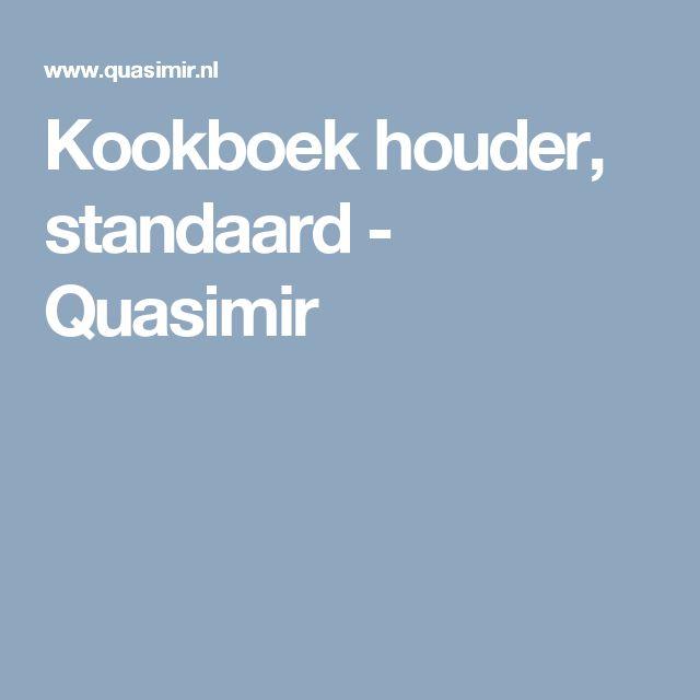 Kookboek houder, standaard - Quasimir