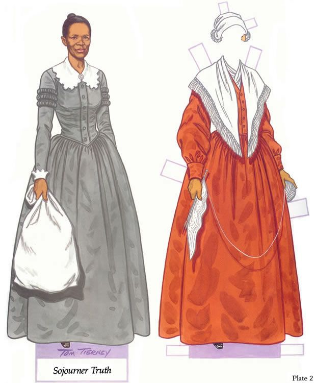 Sojourner Truth paperdoll