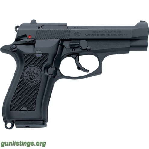 Pistols Beretta 84 FS .380 9mm Short Cheetah