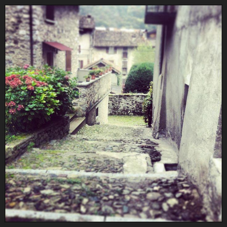 Bagolino streets, Valsabbia, Northern Italy