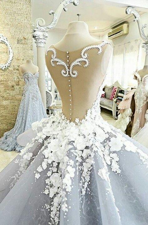 pulchritudinous wedding dresses designer cinderella blush gown 2016 - 2017