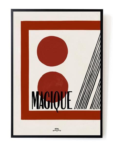 HOTEL MAGIQUE Casette art print SHOP ONLINE