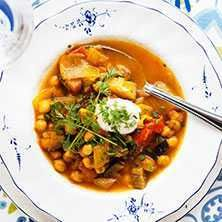 Vegetarisk soppa från det franska lantköket - Recept - Tasteline