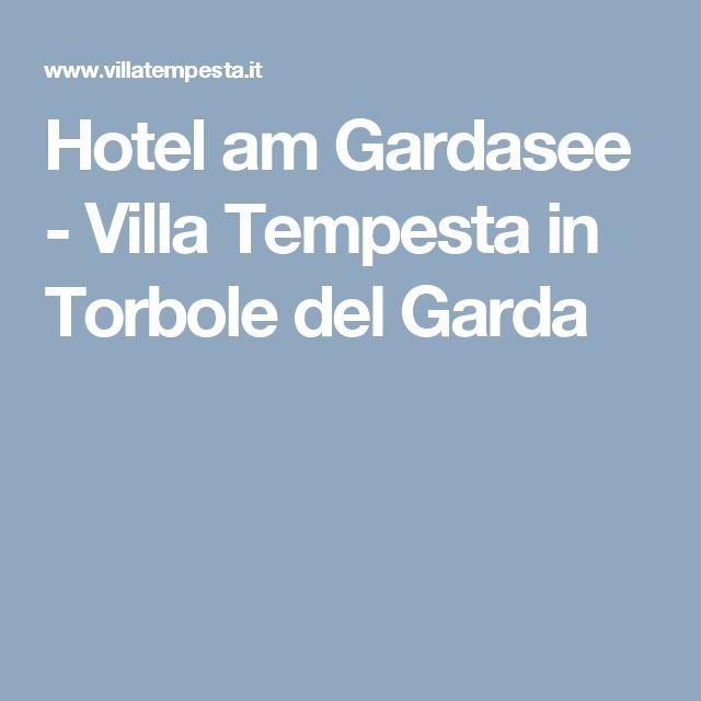 Hotel am Gardasee - Villa Tempesta in Torbole del Garda