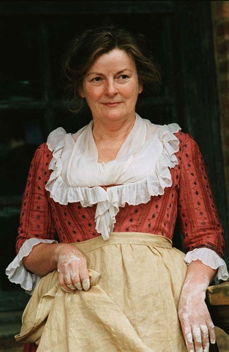 Mrs. Bennet, Brenda Blethyn, Pride and Prejudice 2005...she great mother figure.