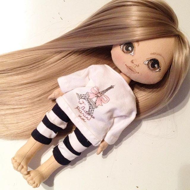 Куколка в процессе)) #кукла #куколка #куклаолли #олли #doll #dolls #artdoll #textilldoll