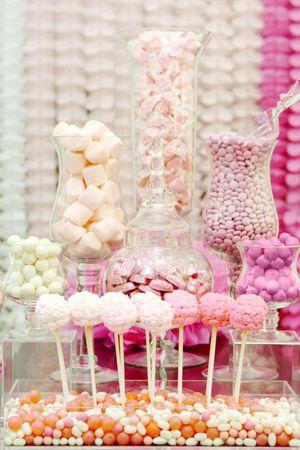 Sweet Pink Wedding Palette - Dessert Table
