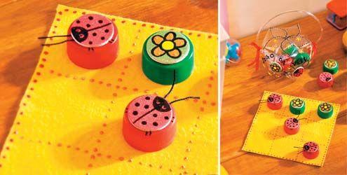Brinquedos feitos com garrafa pet