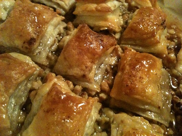 Baklava dessert greco. #evasionicreative