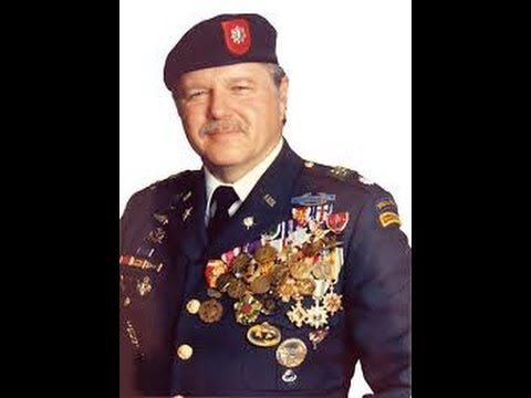"Published on Dec 15, 2010 Colonel James Bo Gritz the real Rambo, commanded detachment ""B-36,"" U.S. Army Special Forces. With 62 decorations for valor, Gritz was the most decorated Green Beret of the Vietnam War. In the 1980s Gritz undertook a series of private trips into Southeast Asia, purportedly to locate United States prisoners of war which as part of the Vietnam War POW/MIA issue some believed were still being held by Laos and the Socialist Republic of Vietnam."
