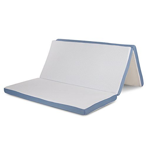 Memory Foam Folding Mattress Topper And Sofa Bed For Guests Or Floor