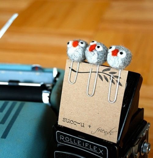book marks - or maybe just a little owl that perches in your bookshelf
