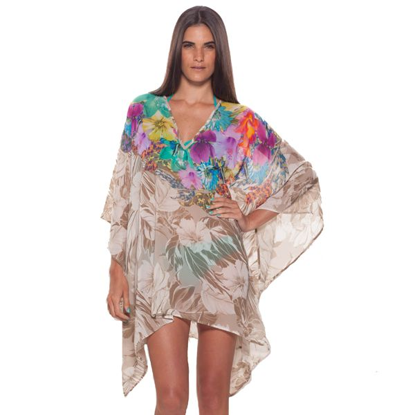 A VIBRANT PRINT STORY WITH A WARM SENSATION. Exquisite printed Kaftan.