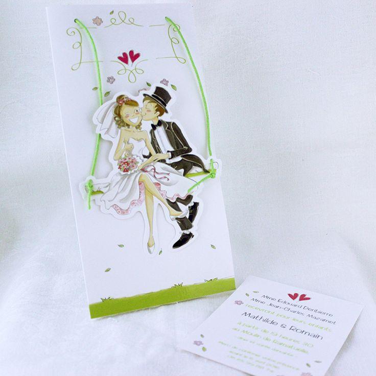 1000 images about faire part de mariage on pinterest bandeaus mauve and laser cut wedding - Faire part mariage humour ...