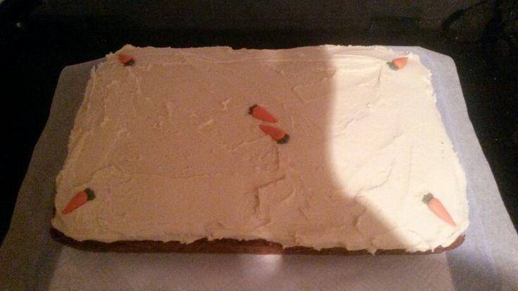 James's birthday carrot cake 2014.