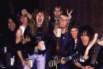 Megadeth/ Slayer.. back when they loved each other lol