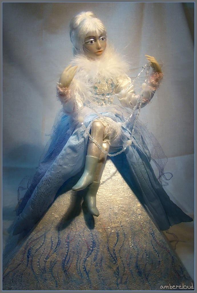 Коллекция Времена Года - Зима *** doll, dollart, hand made, ©ambercloud, авторская кукла