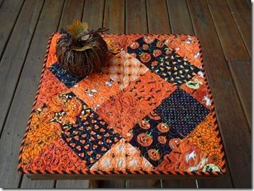 Fall Mason Jar Crafts, Knit Owls and Halloween Quilts