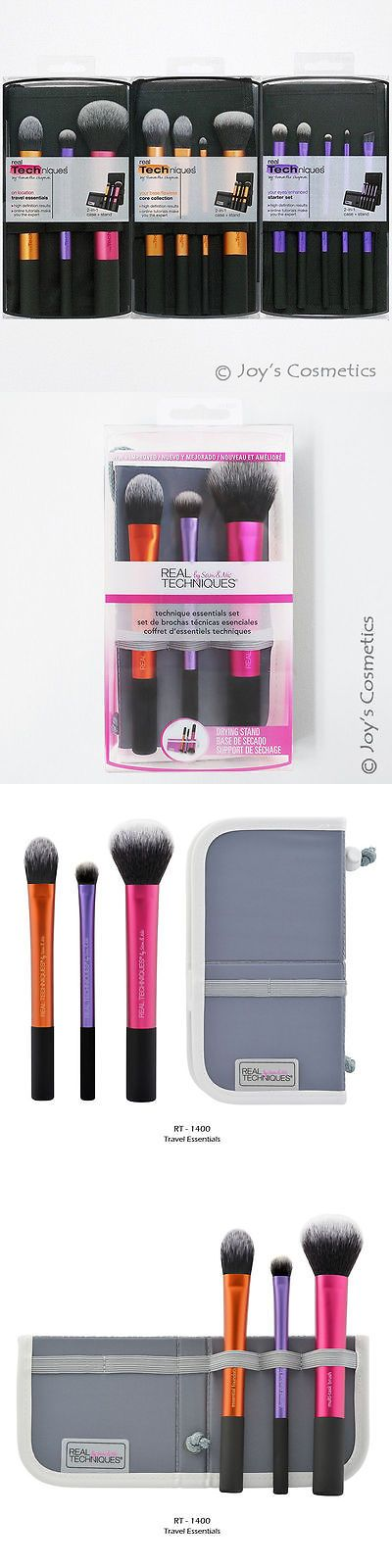 Brushes: 3 Real Techniques Makeup Brush 3 Kits Lot - Full Set *Joy S Cosmetics* -> BUY IT NOW ONLY: $35.02 on eBay!