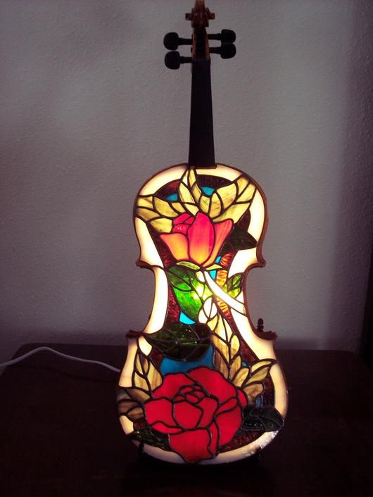 """2009 Lamps 3rd. Place """"Beautiful Music"""" by Cheryl"""