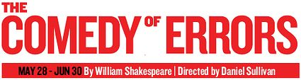 It's no Romeo and Juliet but The Comedy of Errors is another Shakespeare play! Check it out at Shakespeare in the Park! #AliRoSummer100
