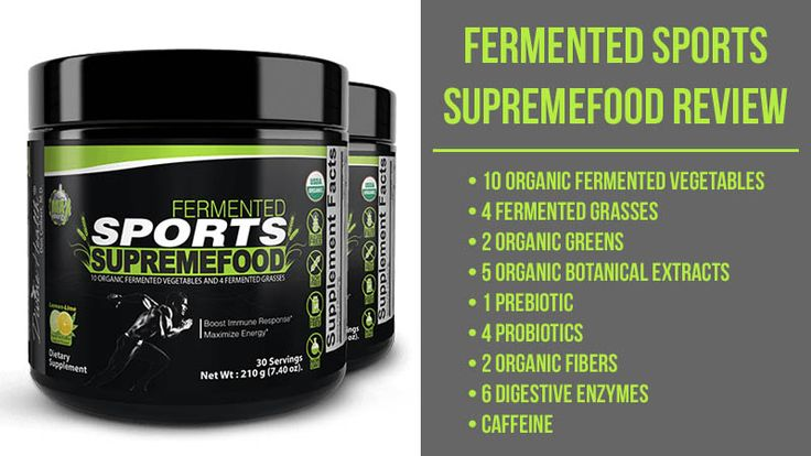 Fermented Sports Supremefood Review: Get More From Your Workouts