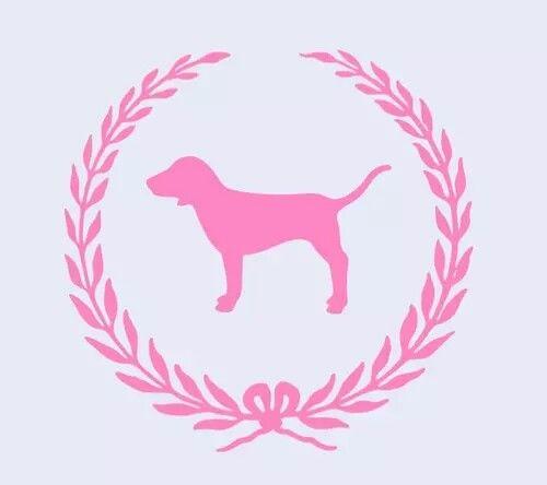 Vs pink doggie  logo