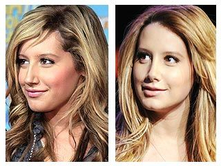 Ashley Tisdale Before and After