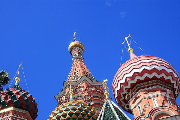 Church complex Basil's Cathedral on Red Square in Moscow