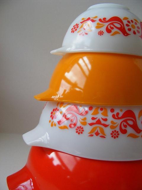 Friendship Pyrex Cinderella Bowls.