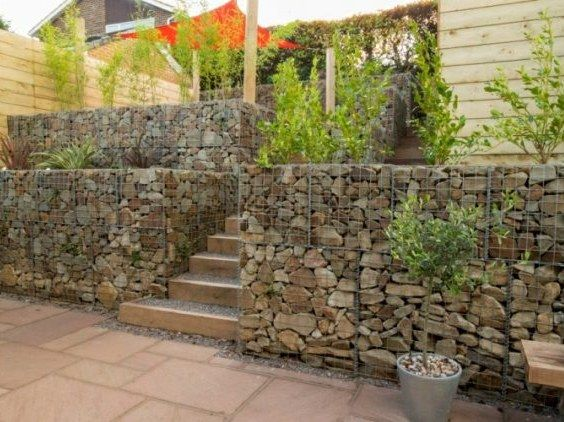 Wall Garden Ideas the incredible and sometimes edible living wall Gabion Retaining Wall And Terraced Garden Httpwwwgabion1com