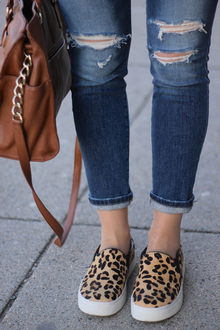 25 Best Ideas About Leopard Sneakers Outfit On Pinterest