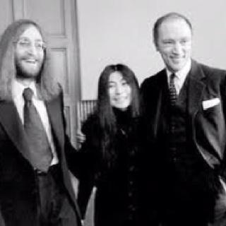 John, Yoko and Pierre.