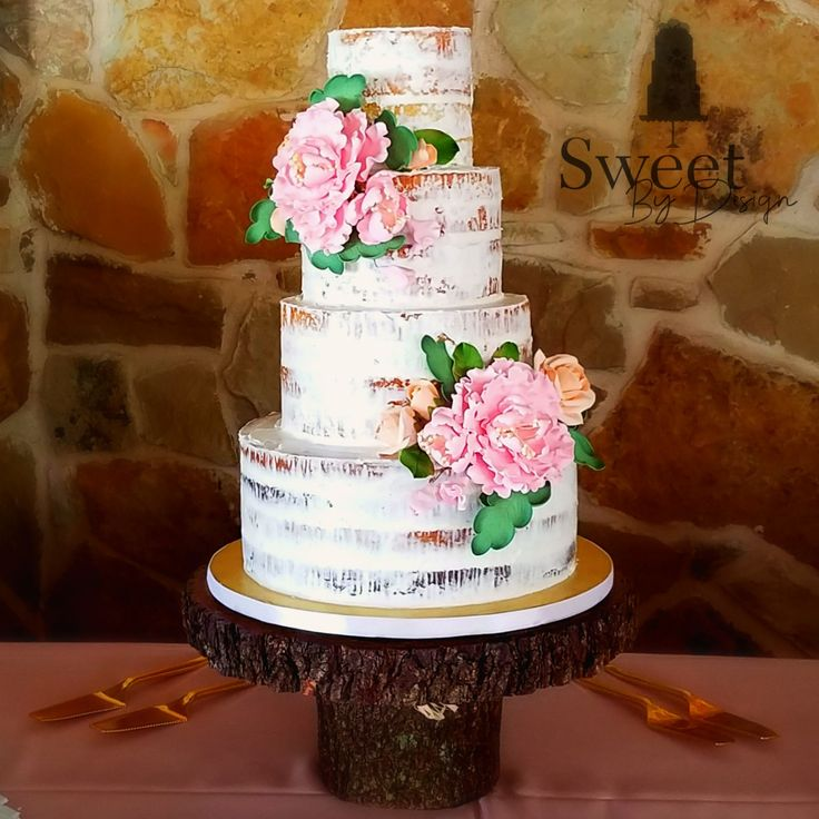 Sweet And Simple Naked Wedding Cakes: 60 Best Sweet By Design Wedding Cakes And Groom's Cakes