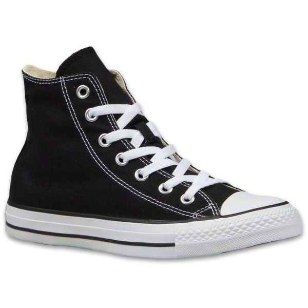 Converse All Star High Damen Sneaker ❤ liked on Polyvore featuring shoes, sneakers, canvas shoes, canvas trainers, converse shoes, converse sneakers and star shoes