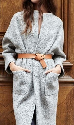 cocoon coat. belt. Love this - Women's Belts - amzn.to/2hOqA0h Women's Belts - http://amzn.to/2id8d5j